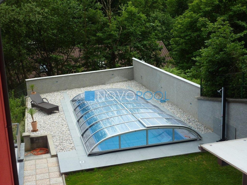novopool.de pool abdeckung pooldach poolcover elegant uberdachung schwimmbaduberdachung